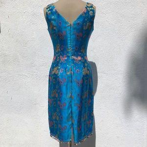 Vintage Dresses - Vintage Paisley Dress